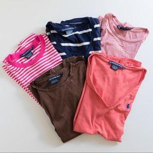 Bundle of Ralph Lauren Sport T-Shirts Size Small